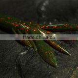 soft fishing lures 80mm 7.7g soft plastic wholesale lure