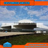 Large Steel frame dome waterproof car garage tents