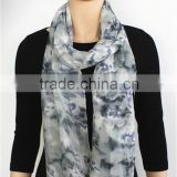 Floral Print Rayon Scarf