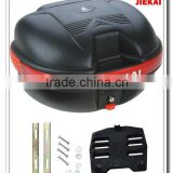 Portable black color motorcycle accessory trunk box for sale