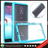 Samco New Arrival 2 in 1 TPU Acrylic Double Cell Phone Hybrid Hard Back Cover Armor Case for ZTE Imperial Max