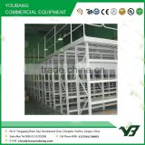 Hot sell best price heavy duty warehouse pallet rack supported steel mezzanine floor /steel platform shelves (YB-WR-C80)