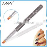 ANY Nail Art Beauty Care Metal Handle High Quality China Nail Brushes UV Gel