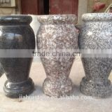 cheap granite grave heastone vase