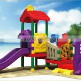KAIQI classic plastic Series Fairytale Castle KQ50125C backyard garden children enjoying LLDPE plastic playground equipment