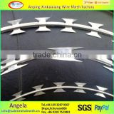 anping XKX BTO-22 Razor barbed wire , concertina razor wire price made in china (factory)