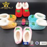 cute design and comfortable styles sheepskin baby shoes