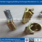 China supplier hot sales metal expansion christmas tree anchors for wood- and chipboard screws