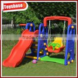 Outdoor baby slides and swings