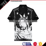 Wholesale Custom OEM brand printing Tee Shirt Clothing in men's t-shirt china whlesale