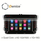 Ownice C300 Quad core android 4.4 radio stereo for VW Polo Bora built in RDS multimedia WIFI GPS navi