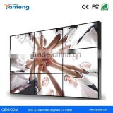 3.5mm Ultra Narrow Bezel 55inch LG cheap led video wall with 500nits