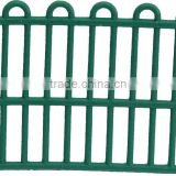 3D decorative concrete fence,N09-006,decorative outdoor scale model fence,architectural outdoor security model fence