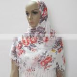 PLAIN AND CLASSY FLORAL SCARVES/PASHMINA PRINTED VISCOSE LONG SHAWL/WRAP/HIJAB WHOLESALE