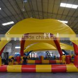High quality pvc inflatable swimming pool cover tent inflatables pool rental for Adult Kids