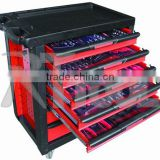 2015 High Quality tool cart with 220pcs Tools tool trolley tool cabinet