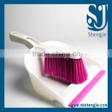 Trade assurance new household cleaning product mini size plastic dustpan with brush for sale