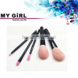 MY GIRL 2016 new arrival glitter camel hair makeup brushes make up tree