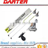 Lightweight China OEM factory High Quality Carbon fiber ski pole, cross country ski pole