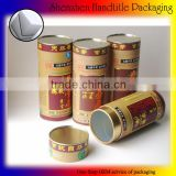 FACTORY OEM customized logo different size pacakaging paper tube box wholesale with best price