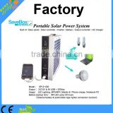 Portable solar power system(SP12-220A),for phone/light/computer