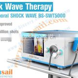 penumatic shock wave therapy equipment for body pain removal shockwave shock wave therapy machine