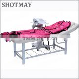 shotmay STM-8033 3 in 1 Pressotherapy & far infrared clothing with EMS body shaper slimming machine with CE certificate