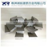 SS10 tungsten carbide stone cutting tip with clearance angle