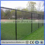 2-4 m height outdoor soccer field fence green pvc coated cyclone fencing(Guangzhou Factory)