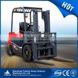 3.0T Material handling equipment electric forklift truck with various kinds of attachment