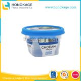 150g IML Thin Wall Plastic Coconut Yogurt Instant Pot, Packaging Bowl for Frozen Yogurt/Cream Food Products