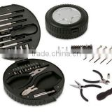 Promotional tyre shape tool set