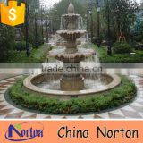 norton hand carved decorative outdoor stone fountain for sale NTMF-S513S