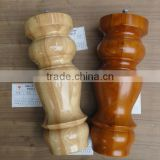 KMJ-2215 different designs of OAK wooden legs for billiard table ,pool table game legs