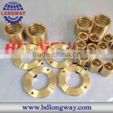OEM precisely copper brass metal lost wax casting