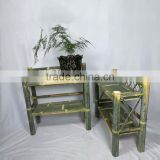 custom High Quality Hot Sale low price hot sell dispaly bamboo shelf