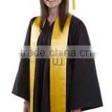 Wholesale Best quality Black Graduation Caps and Gowns For School