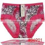 Promotion cheap milk fabric women underwear soft womne underwear in stock