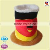 High quality velvet material oktoberfest hat/party hat/carnival hats