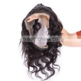 Hair Extension 7a New Arrived Body Wave Human Hair Ear To Ear 360 lace frontal closure