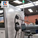 Portable 20W Fiber Laser Marking Machine Laser Printing Online for PE Plastic Pipeline 301