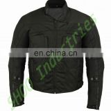 Biker Motorcycle Waterproof CE Armored Textile Touring Jacket Cordura Red