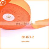 orange color grosgrain ribbon for garments bags