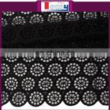 2015 high quality beatiful cord lace fabric 5 yard