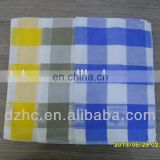 100%cotton checked pattern dishtowel