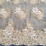 indian wedding new 3d floral lace fabric applique embroidery