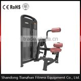 Back Extension/TZ-4006/ body building strength fitness equipment/pin loaded gym machine for sale