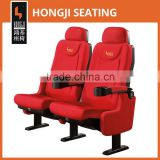 Used comfortable cinema seat for sale HJ9913B-V for movie theater furniture