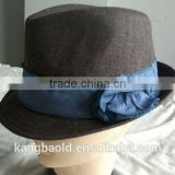2013 Fashion new design felt wool Fedora Hat