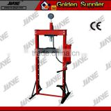 12TON.20TON.30TON Hydraulic shop press with Gauge(FOOT PUMP).shop press with Gauge For foot pump